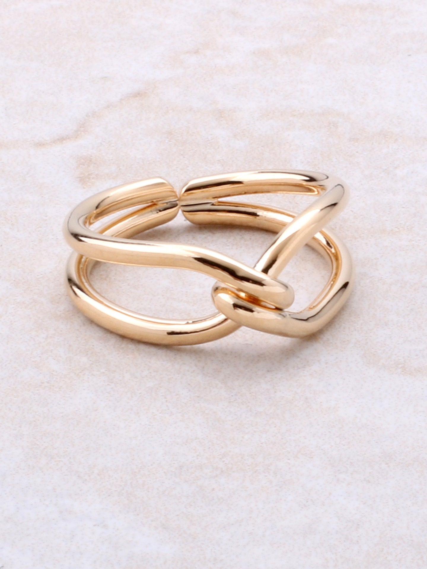 Twisted Ring Anarchy Street Gold