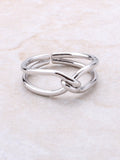 Twisted Ring Anarchy Street Silver