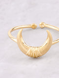 Crescent Horn Ring Anarchy Street Gold - Details