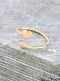 Heart To Heart Ring Anarchy Street Gold