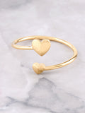 Heart To Heart Ring Anarchy Street Gold - Details