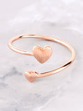 Heart To Heart Ring Anarchy Street Rosegold - Details