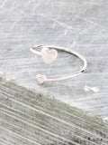 Heart To Heart Ring Anarchy Street Silver