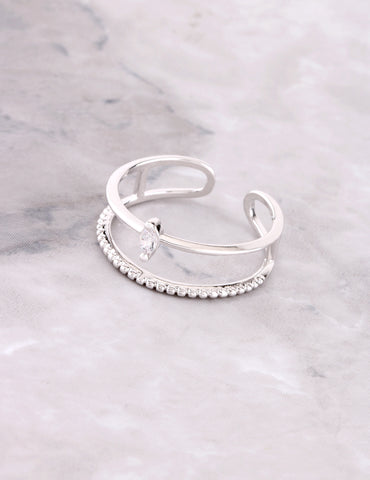 North Star Ring Anarchy Street Silver