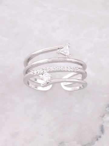 Mixed Up Ring Anarchy Street Silver - Details