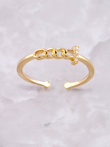 Chain Ring Anarchy Street Gold