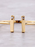 Parallel Lines Ring Anarchy Street Gold - Details