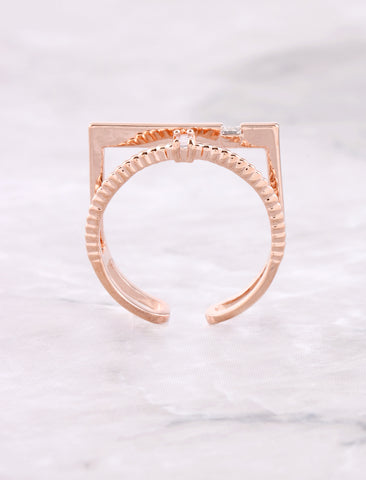 Opposites Attract Ring Anarchy Street Rosegold