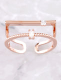 Opposites Attract Ring Anarchy Street Rosegold - Details