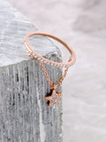Pave Pendant Ring Anarchy Street Rosegold - Star