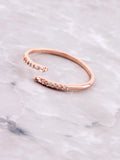 Misguided Pave Ring Anarchy Street Rosegold
