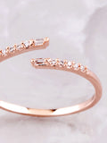 Misguided Pave Ring Anarchy Street Rosegold - Details