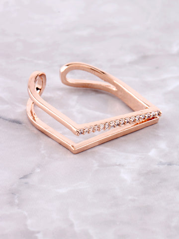 Chain Ring Anarchy Street Rosegold - Details
