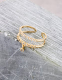 Charming Ring Anarchy Street Gold