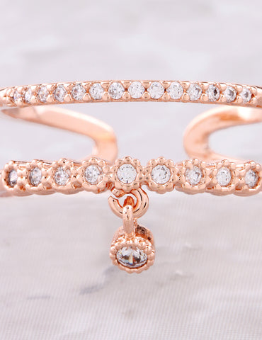 Charming Ring Anarchy Street Rosegold - Details
