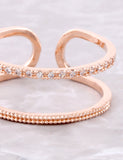 Duplicated Ring Anarchy Street Rosegold - Details