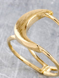 Quarter Moon Ring Anarchy Street Gold - Details