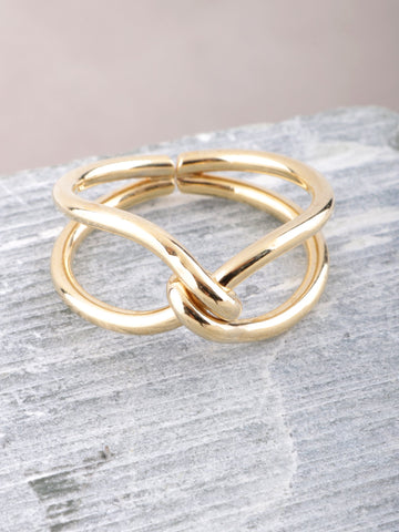 Knotty Ring Anarchy Street Gold