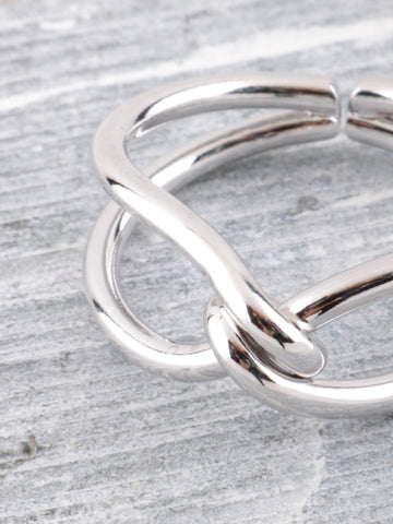 Knotty Ring Anarchy Street Silver - Details