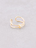 Cuffed Ring Anarchy Street Gold
