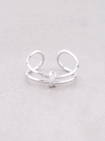 Cuffed Ring Anarchy Street Silver - Details