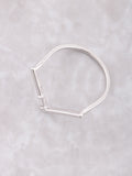 Baguette Point Ring Anarchy Street Silver - Details - 1