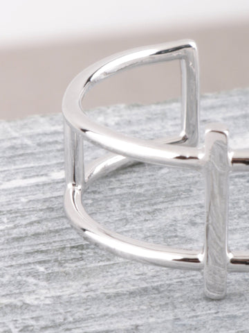 Column Ring Anarchy Street Silver - Details