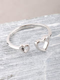 Hollow Heart Ring Anarchy Street Silver