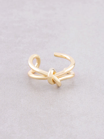 Tied Up Ring Anarchy Street Gold - Details