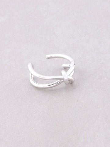 Tied Up Ring Anarchy Street Silver