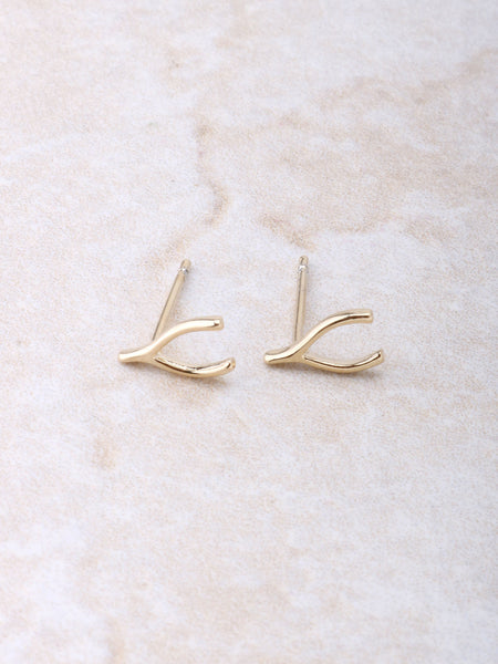 Wishbone Earring Anarchy Street Gold