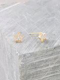 Twinkle Stud Earrings Anarchy Street Gold