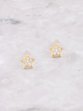 Twinkle Stud Earrings Anarchy Street Gold - Details