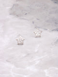 Twinkle Stud Earrings Anarchy Street Whitegold - Details