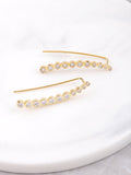 14K Opulent Ear Crawler Earrings Anarchy Street Gold