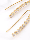 14K Opulent Ear Crawler Earrings Anarchy Street Gold - Details