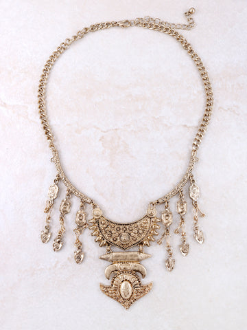 Opulent Statement Necklace Anarchy Street Gold