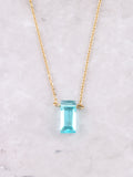Birthstone Pendant Necklace