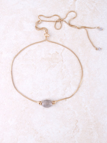 Stone Pull Choker Anarchy Street Gold