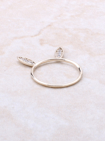 Pave Bunny Ring