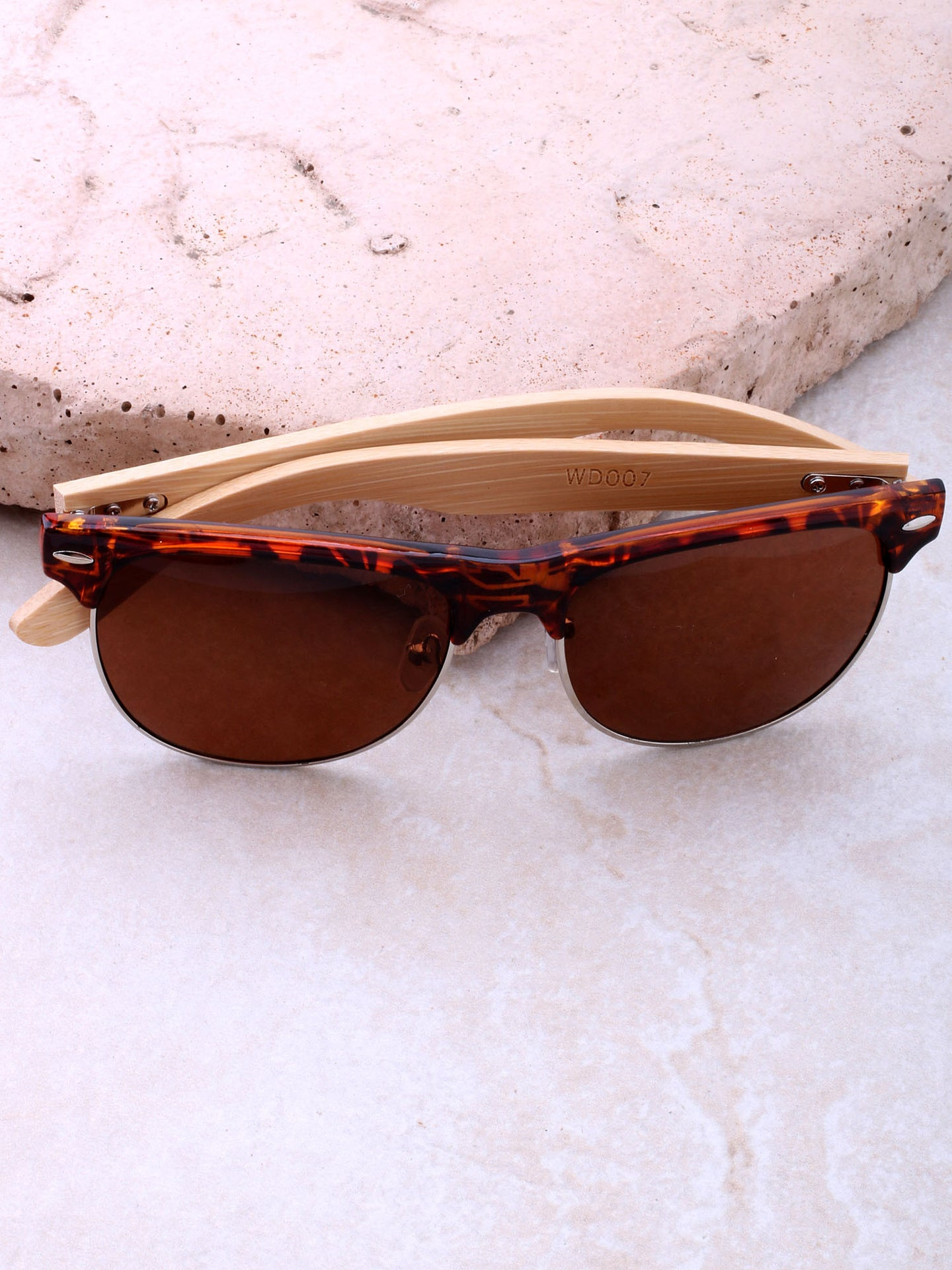 La Playa Wayfarer Sunglasses Anarchy Street Tortoise_Black