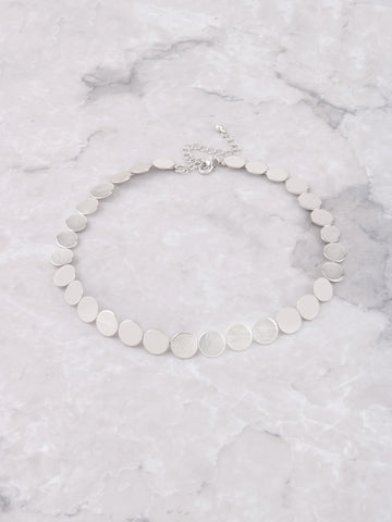 Coin Choker Anarchy Street Silver