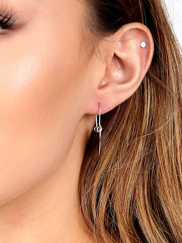 Crest Dangle Earring