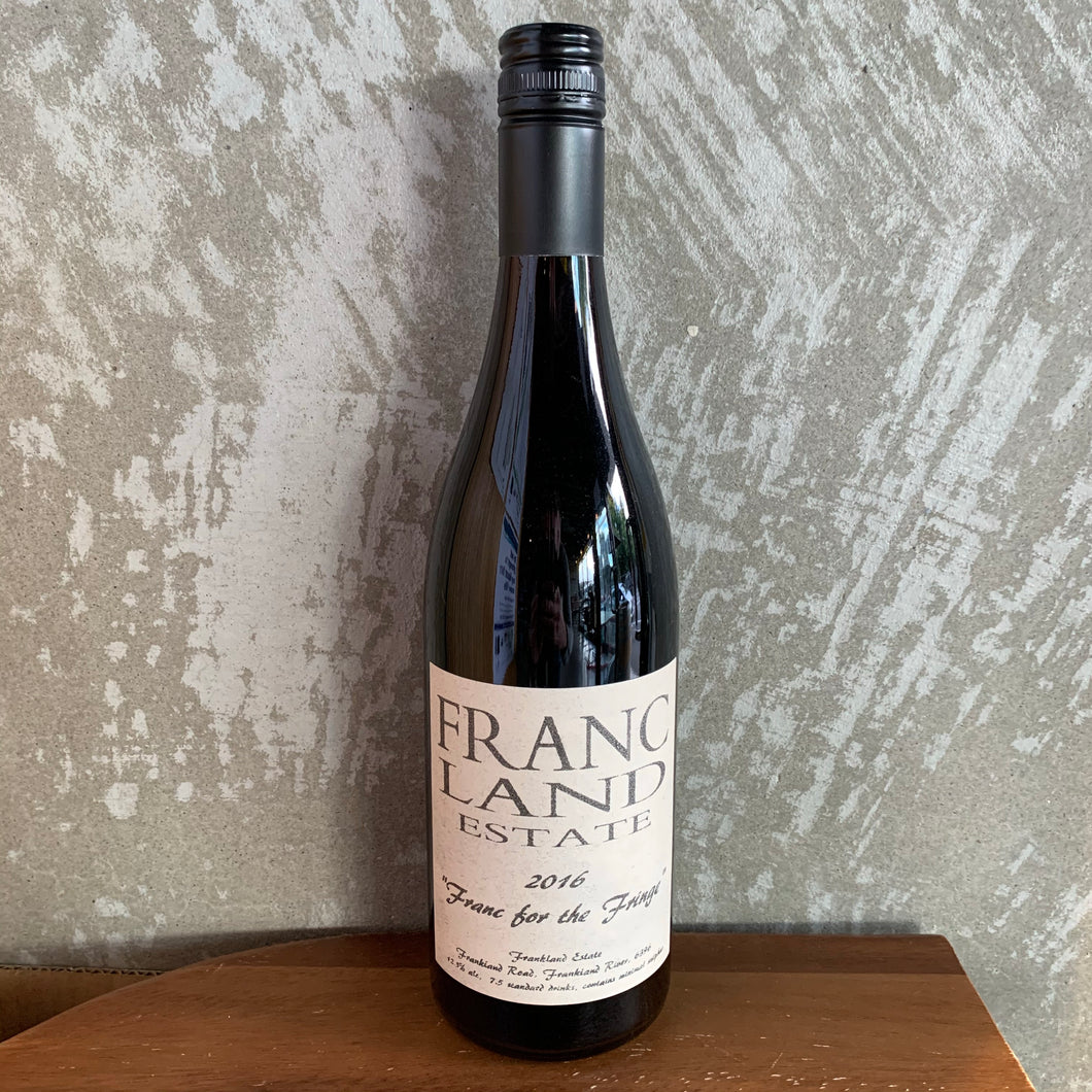 "Frankland Estate Cabernet Franc ""Franc for the fringe"""