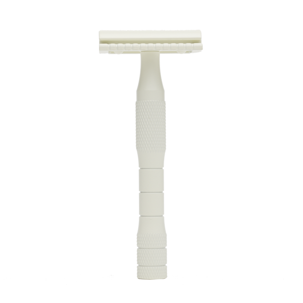Cream Safety Razor