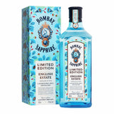 Bombay Sapphire English Estate Limited džins (ar dāvanu kasti) 1L