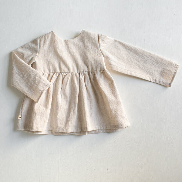 ivory tunic - Tortoise & the Hare Clothing | Naturally Dyed Kids Clothes