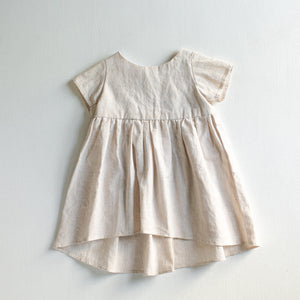 Ivory Goldilocks Dress - Tortoise & the Hare Clothing | Naturally Dyed Kids Clothes
