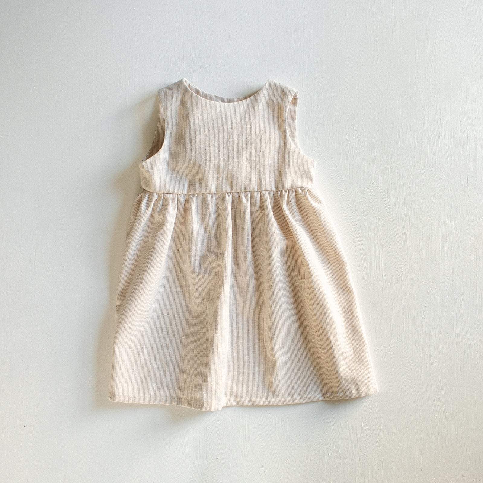 Ivory Charlotte Dress - Tortoise & the Hare Clothing | Naturally Dyed Kids Clothes