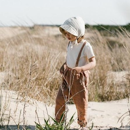 Geranium Casper Trousers - Tortoise & the Hare Clothing | Naturally Dyed Kids Clothes